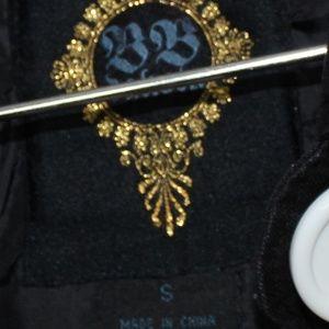 BB Dakota Jackets & Coats - BB Dakota Cotton Pea Coat w/ White Buttons Sz Sm